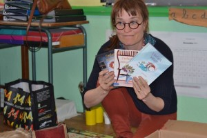 Visite de Clotilde Perrin